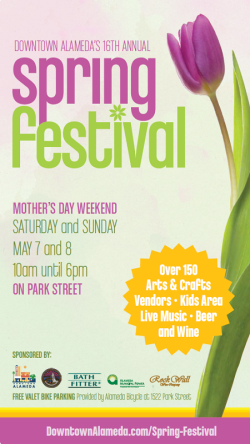 Downtown Alameda Spring Festival 2016