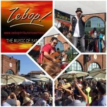 Zebop at Downtown Alameda Spring Festival