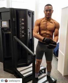 Joel Siapno at Redux Cryotherapy in Alameda