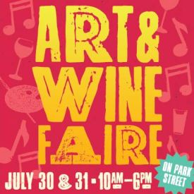 Downtown Alameda Art & Wine Faire on Park Street 2016
