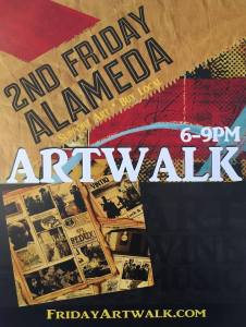 2nd Friday Art Walk Downtown Alameda