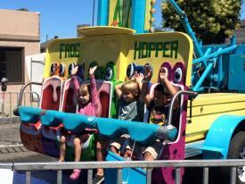 Kid activities at Downtown Alameda Art & Wine Faire