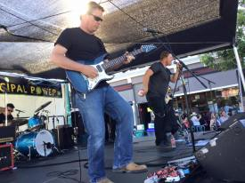 True Covers Tribute Band at Downtown Alameda Art & Wine Faire