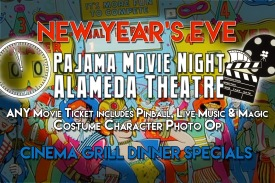 Alameda Theatre Pajama Movie Night