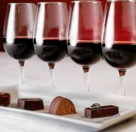 Wine & Waffles Chocolate Pairing