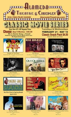 2017 Spring Classic Movie Series at Alameda Theatre & Cineplex