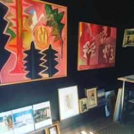 MGH Discovered Art Alameda display