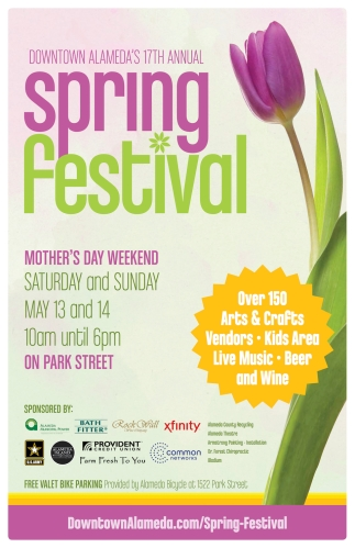 Downtown Alameda Spring Festival