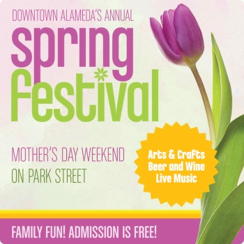 Downtown Alameda Spring Festival graphic