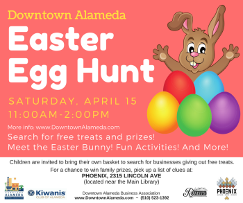 Downtown Alameda Easter Hunt