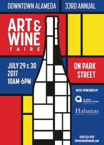 Downtown Alameda Art and Wine Faire 2017