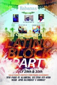 Latino Block Party in Downtown Alameda
