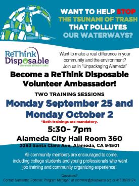 ReThink Disposable Program Ambassador Training