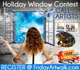 Downtown Alameda Holiday Window Contest artists