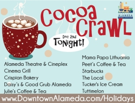 Downtown Alameda Cocoa Crawl